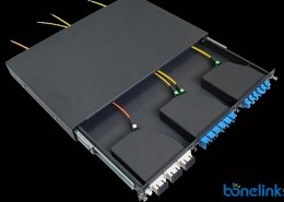 1u mpo patchpanel BMPC5563 260x185 - MTP/MPO Male to Female Multimode OM3 Fiber Optic Trunk Cables BD-C580