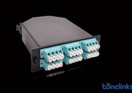 24 ports om3 MTP Casstte BOMCS6897 260x185 - MPO/MTP 1U Slide Type Patch Panel with 4 MTP Cassettes BD-C669