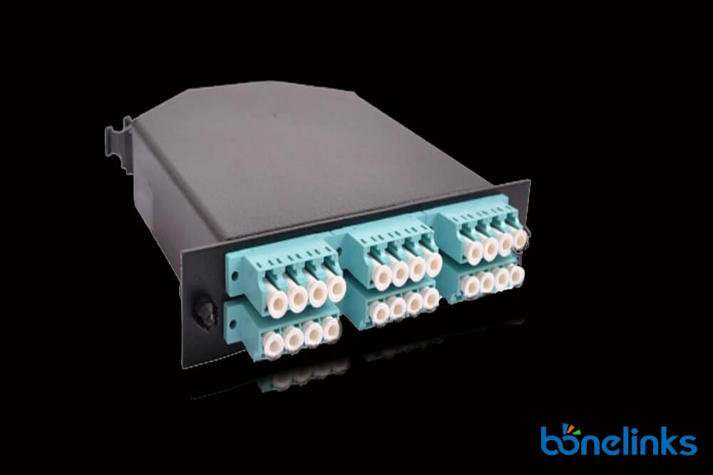 24 ports om3 MTP Casstte BOMCS6897 - MTP MPO 24 Fiber OM3 Modular Cassette BD-C237