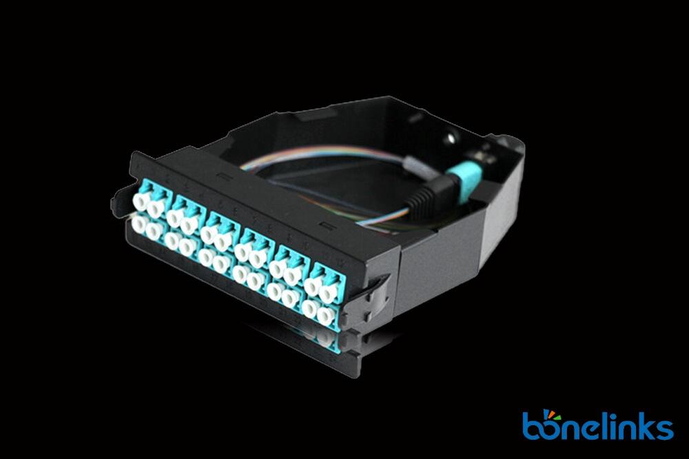 24core MTP Cassette BMTP56897 - MPO MTP OM4 24 Fiber Cassette BD-C236