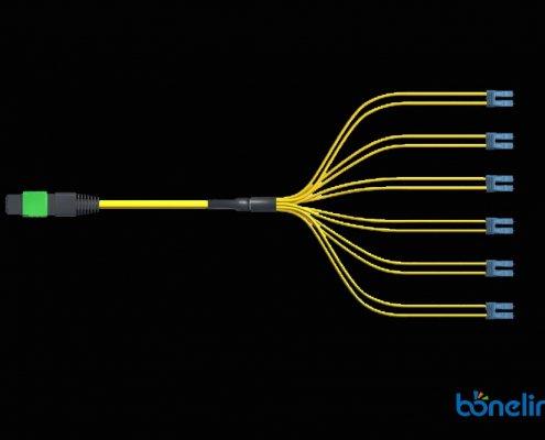 MPO 12 breakout OS2 BMSB8679 495x400 - MTP/MPO Male 24 Ribbon Fiber Loopback Tester BD-C042