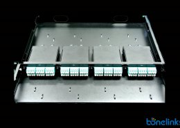 slide MTP patchpanel BMSP1588 260x185 - MPO/MTP 1U Slide Type Patch Panel with 4 MTP Cassettes BD-C669
