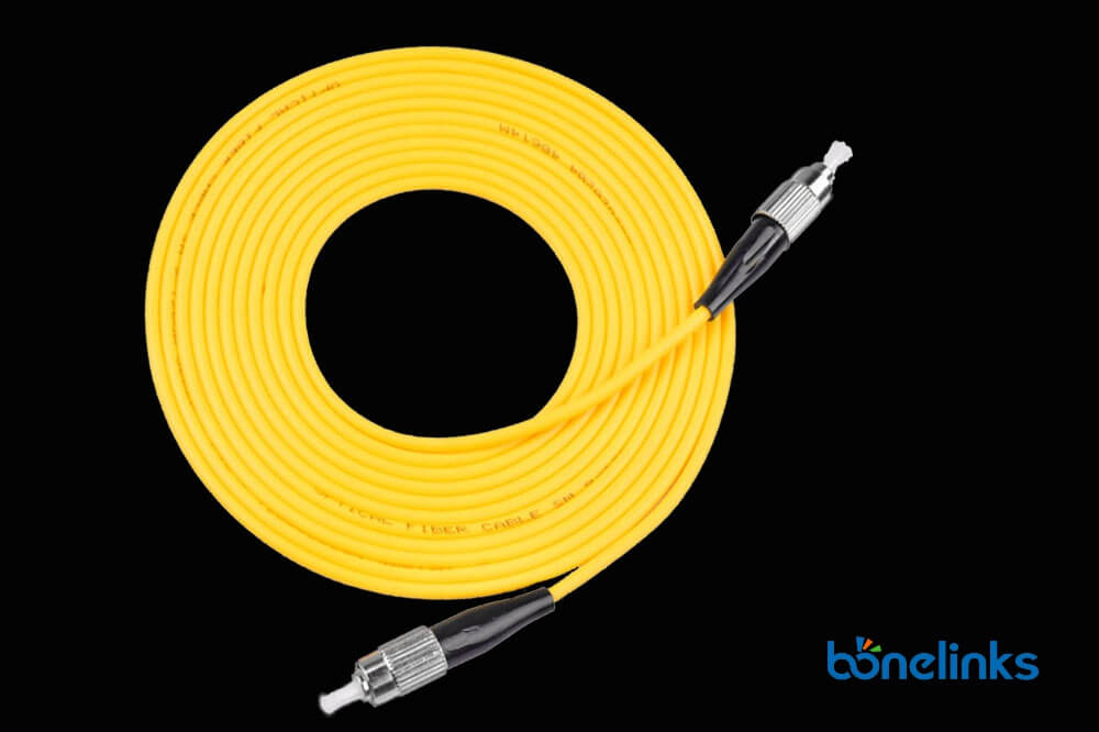 FC to FC SM SX PVC BW P603 - Fibre Optics Patch Cord FC to FC Singlemode Simplex PVC BW-P603