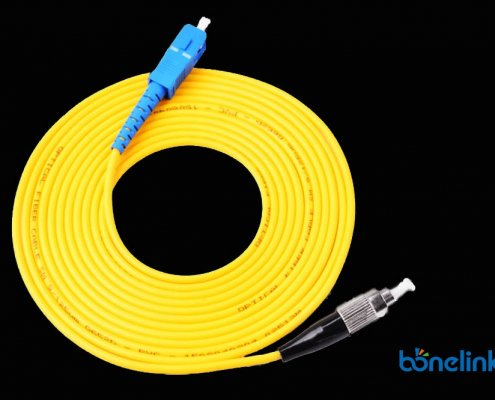 FC to SC SM SX OFNR BW P601 495x400 - Fibre Optics Patch Cord FC to FC Singlemode Simplex PVC BW-P603