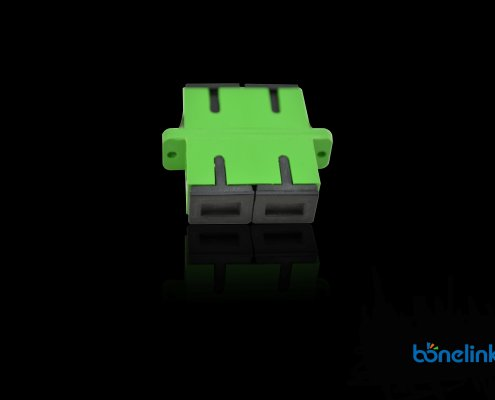 Fiber Optics Adapter SCAPC Duplex BW A203 1 495x400 - Wall Mount SC Ports Fiber Optics Faceplate BW-A510