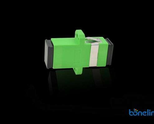 Fiber Optics Adapter SCAPC Simplex with Flange BW A213 1 495x400 - Wall Mount SC Ports Fiber Optics Faceplate BW-A510