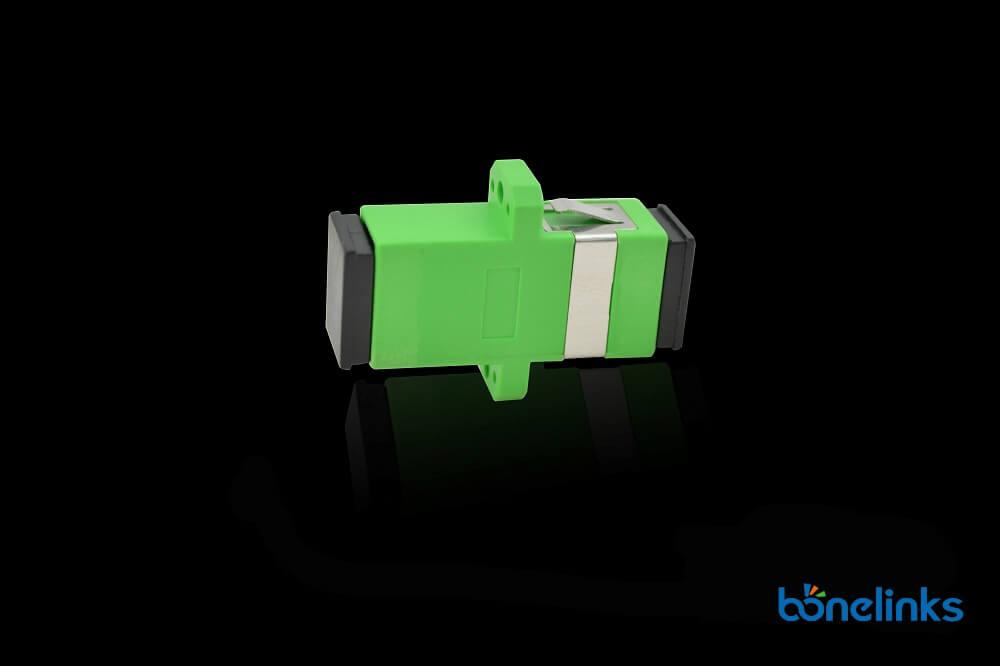 Fiber Optics Adapter SCAPC Simplex with Flange BW A213 1 - Fiber Optics Adapter SCAPC Simplex with Flange BW-A213