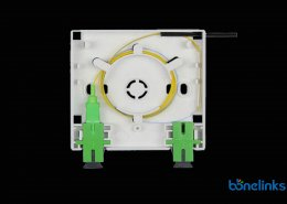Fiber Optics Faceplate with SCAPC Adapters BW A510 260x185 - Optical Fibre Pigtail LCAPC PVC Yellow BW-P710