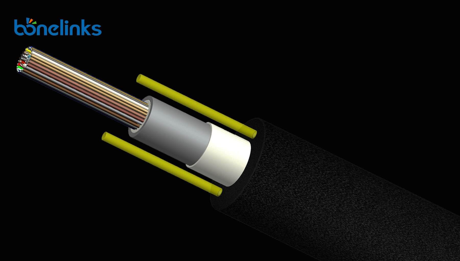 GYFXY BWFR4404 - All Dieletric Central Tube Fiber Optics Cable GYFXY BW-O756