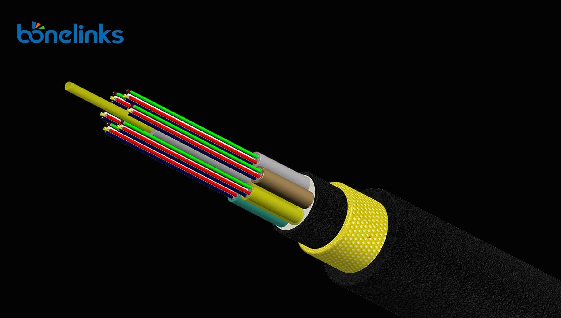 GYHTY Cable BWFG1120 - Loose Tube Stranded Non-metallic Strengthen Member Fiber Cable BW-D770