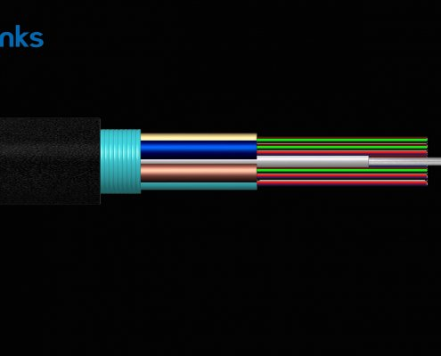 GYTS Cable BWFG6632 495x400 - Aluminum Armoured Outdoor Duct Fiber Optic Cable GYTA BW-O714