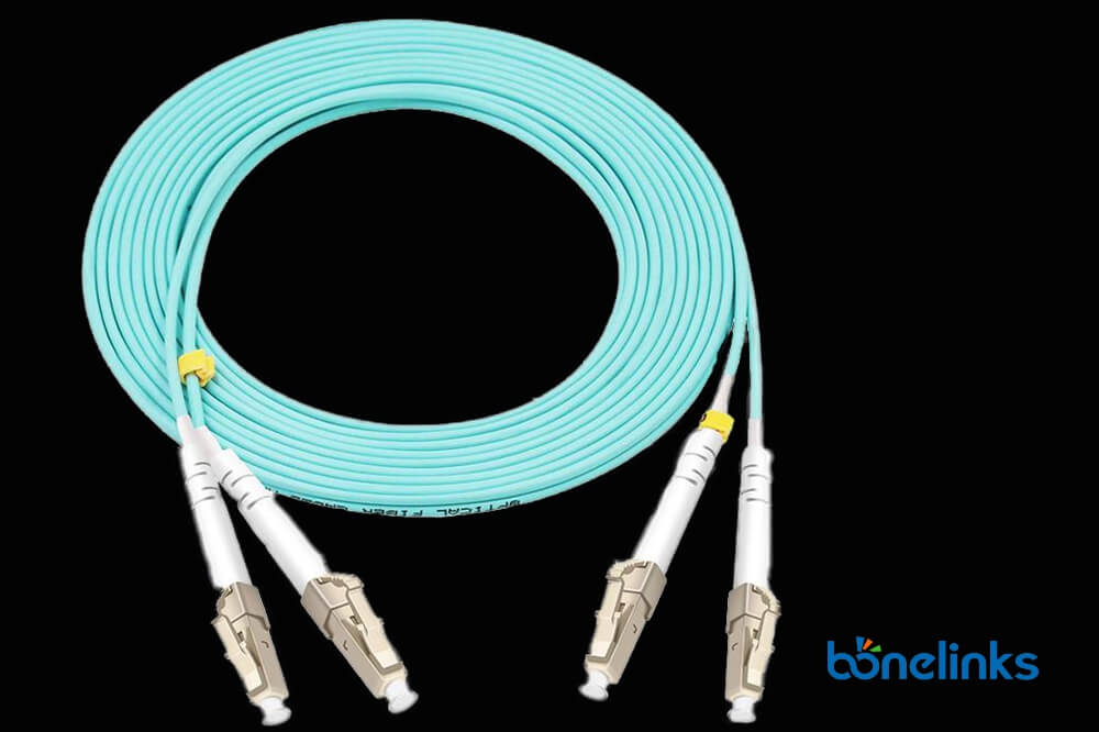 LC to LC OM3 DX LSZH BW P533 - Fiber Patch Cords LCUPC to LCUPC Multimode Duplex OM3 LSZH BW-P533