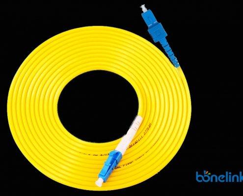 LC to SC SM SX PVC BW P654 495x400 - Optical Fiber Patch Cords LC to SC Singlemode Simplex PVC BW-P654