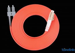 SC to LC DX MM OM2 BW P690 260x185 - Fiber Optics Adapter SCAPC Simplex with Flange BW-A213