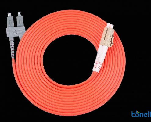 SC to LC DX MM OM2 BW P690 495x400 - Optical Fiber Patch Cords LC to SC Singlemode Simplex PVC BW-P654