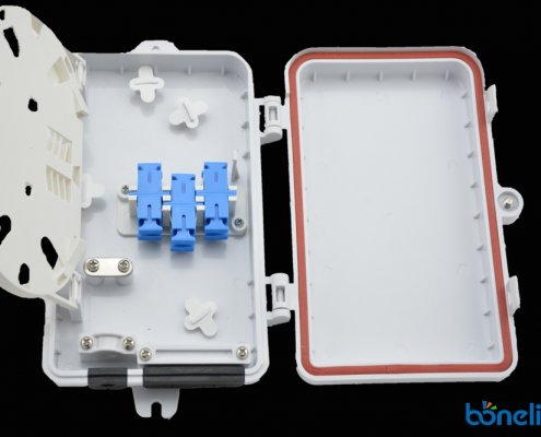 Water Proof Splicing Closure with Splicing Tray BW A537 495x400 - Wall Mount SC Ports Fiber Optics Faceplate BW-A510