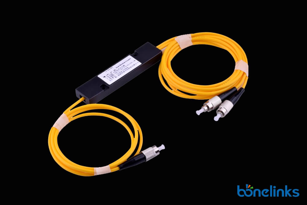 Fiber Optic FBT Passvie Splitter with FC Connectors BS F355 - Fiber Optic FBT Passvie Splitter with FC Connectors BS-F355