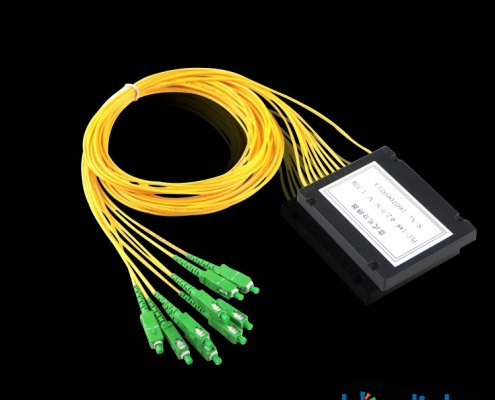 Fiber Optic Singlemode Splitter for FTTH BS F225 495x400 - 3 Way Fiber Optic Splitter with Singlemode LC Connectors BS-F330